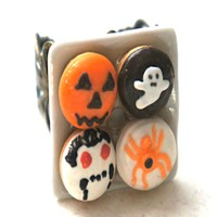 Halloween Donuts Ring