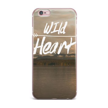 "Ann Barnes ""Wild Heart"" Landscape iPhone Case"