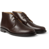 PRODUCT - A.P.C. - Leather Desert Boots - 395304   MR PORTER