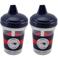 New England Patriots 2-Pack 5oz. Sippy Cups
