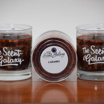 Caramel Fragrance in Palm Wax , Highly Scented Candle