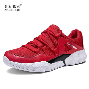 2018 New Brand Plus Size 39-47 Tennis Shoes for Men Breathable Air Mesh Sneakers Outdoor Sports Shoe Man Zapatillas Tenis Hombre