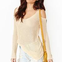 Cold Curves Knit - Taupe