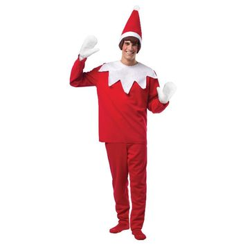 Elf On A Shelf Adult Costume