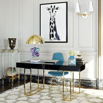 Caine Desk | Modern Furniture | Jonathan Adler