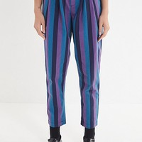 UO Della Striped Tapered Pant | Urban Outfitters