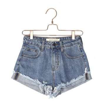 Cora Denim Cutoffs
