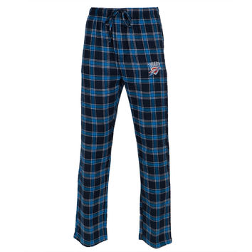 Oklahoma City Thunder - Logo Plaid Lounge Pants