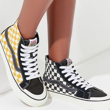 Vans Sk8-Hi 138 Decon SF Surf Check Sneaker | Urban Outfitters