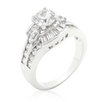 Sandra Fashion Solitiare Engagement Ring | 4ct | Cubic Zirconia