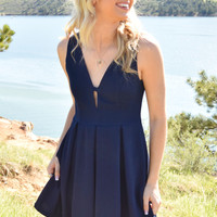 Midnight Dance Flare Dress