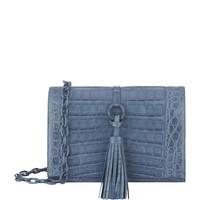 Nancy Gonzalez Tassel Cross Body Crocodile Bag | Harrods.com