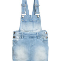 H&M Denim Bib Overall Dress $19.99