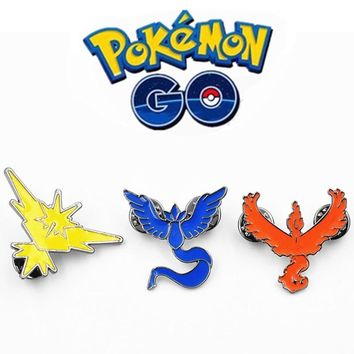 Brooches Pin Anime Cute Harajuku Boys Girls Dragonfly Brooch Enamel Pin Badge Cameo Game Movie Broszka Vintage EsmaltesKawaii Pokemon go  AT_89_9