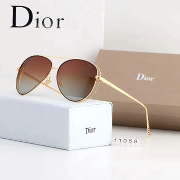 Dior Women Fashion Sunglasses Popular Summer Style Sun Shades Eyeglasses Glasses Sunglasses G-A50-AJYJGYS