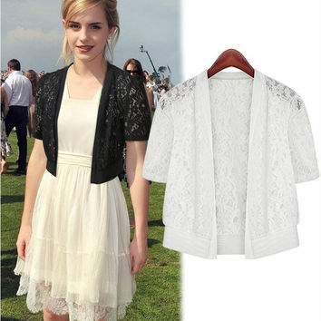 Lace Tops Jacket [10399294989]