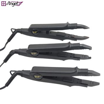 1pc JR-611  A/B/C tip Professional Hair Extension Fusion Iron Heat Connector Wand Iron Melting Tool+EU,AU,US,UK outlet