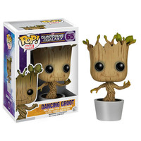 "Funko PoP 10CM Vinyl Dancing Groot Toy 4"" Guardians Of The Galaxy Groot Action Figures Retail Box WU390"