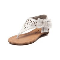 Toddler Sarah-Jayne Ginger Bow Sandal