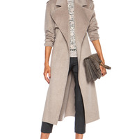 Joseph | Win Double Face Cashmere Coat in Beige Chine www.FORWARDbyelysewalker.com