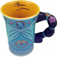 disney parks aladdin princess jasmine signature dress mug new