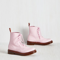 March Through Manhattan Boot in Pink | Mod Retro Vintage Boots | ModCloth.com