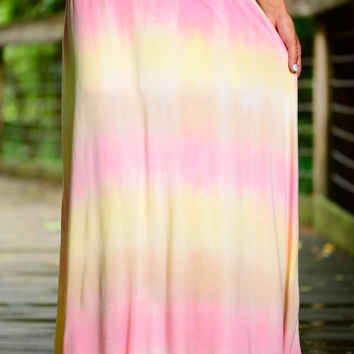 Cotton Candy Maxi, Pink/Yellow