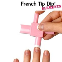 French Tip Dip Elements French Manicure & Pedicure Kit