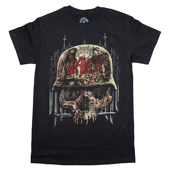 Slayer Skull Collage T-Shirt