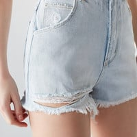 Rolla's X UO High-Rise Denim Short | Urban Outfitters