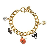 Limited Edition Pre-Assembled Halloween Charm Bracelet