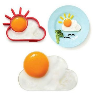 Silicone products _DIY cloud sun silicone frying device [10250061260]