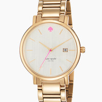 Kate Spade Gramercy Grand Watch Gold ONE