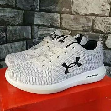 Under Armour Woman Men Trending Fashion Running Sports Shoes Sneakers