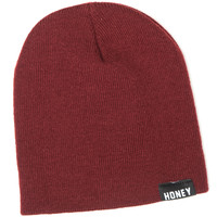 BEAZY BEANIE – HONEY BRAND