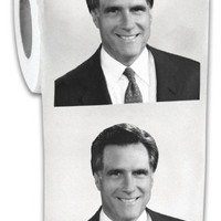 Big Mouth Toys Mitt Romney Toilet Paper