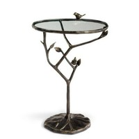 All-weather Bird and Branch Table - Grandin Road