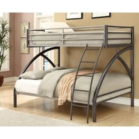 Coaster Twin And Full Bunk Bed