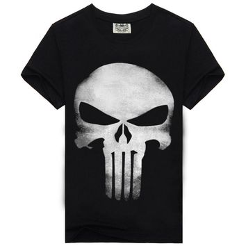Mens High Quality Punisher T-Shirt