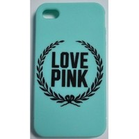 Victoria's Secret Pink Iphone 4 4S Case Soft Case Blue