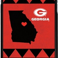 Georgia State Love iPhone 6 Plus Thinshield Snap-On Case | UGA State Love iPhone Case | Georgia Bulldogs State Love iPhone Cover