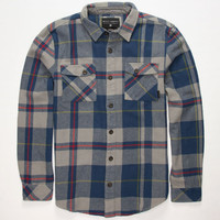 Billabong Coldfront Mens Flannel Shirt Heather Grey  In Sizes