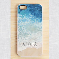 iPhone 5 case, iPhone 5S case, iPhone 4 case, iPhone 4S case, Samsung galaxy S4 and S3 case - aloha blue ocean