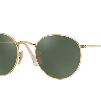 Ray-Ban Prescription ROUND METAL Gold , RB3447 | Ray-Ban® USA