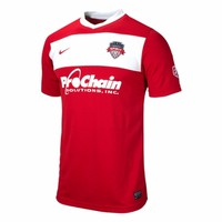 Men's Washington Spirit 2014 Jersey - Red