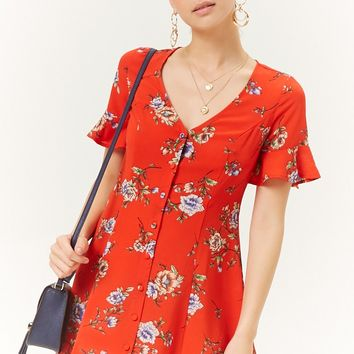 Floral Shift Dress