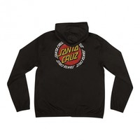 Ringed Dot Santa Cruz Mens Hooded Windbreaker Jacket