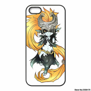 Twilight Princess Midna Phone Case for Iphone 4S 5 5S 5C 6 6S Plus for Samsung galaxy S3/4/5/6/7 Iopd Touch 4 5 6