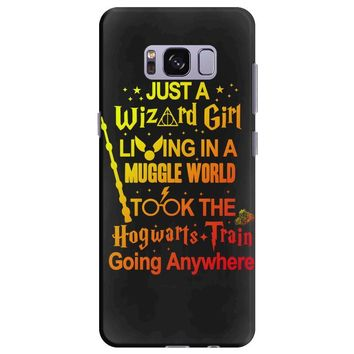 Just A Wizard Girl Living In A Muggle World Samsung Galaxy S8 Plus