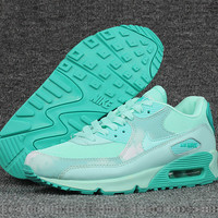 """NIKE"" Women Mint Green Sneakers Running Sport Shoes"